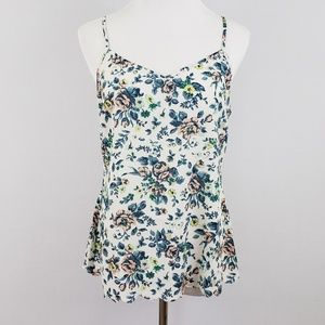 Anthropologie E by Eloise Floral Tank